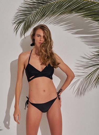 Morhipo Beach Bağlama Detaylı Bikini Siyah